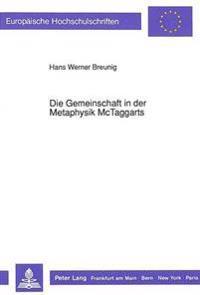 Die Gemeinschaft in Der Metaphysik McTaggarts