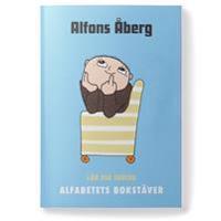 Alfons Åberg Lär dig skriva alfabetets bokstäver