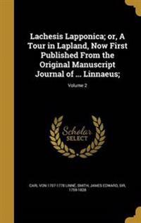 LACHESIS LAPPONICA OR A TOUR I