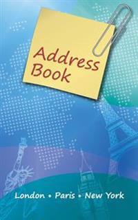 Address Book - London, Paris & New York Design by Gee Myster