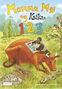 Mamma Mø og Kråkas 123. Med klistremerker