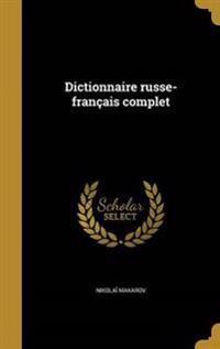 FRE-DICTIONNAIRE RUSSE-FRANCAI