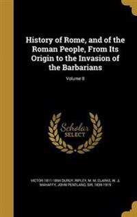 HIST OF ROME & OF THE ROMAN PE