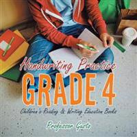 Handwriting Practice Grade 4 : Children's Reading & Writing Education Books