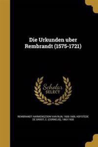 GER-URKUNDEN U BER REMBRANDT (