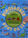 Dinosaurer pynt og lek. Hobbyhefte. Fra 5 år. Med utstansede figurer, klistremerker og 1 CD