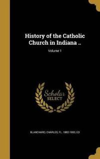 HIST OF THE CATH CHURCH IN IND