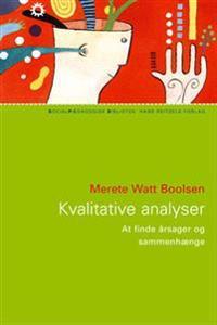 Kvalitative analyser