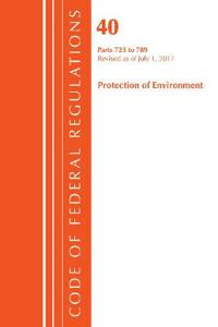 Code of Federal Regulations, Title 40 - Protection of Environment Tsca - Toxic Substances