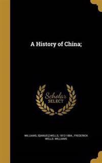 HIST OF CHINA
