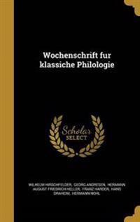 GER-WOCHENSCHRIFT FU R KLASSIC