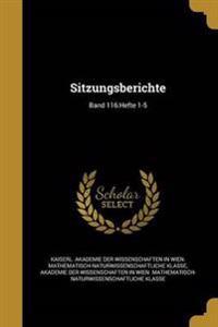 GER-SITZUNGSBERICHTE BAND 116