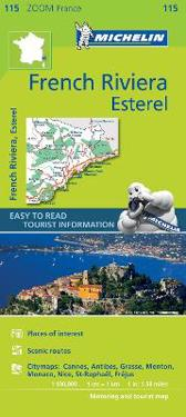 French Riviera, Esterel - Zoom Map 115