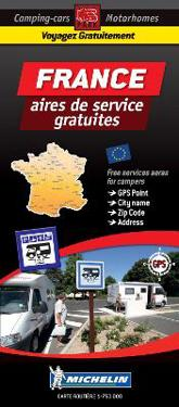 France Map - Motorhome Stopovers