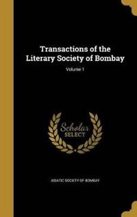 TRANSACTIONS OF THE LITERARY S