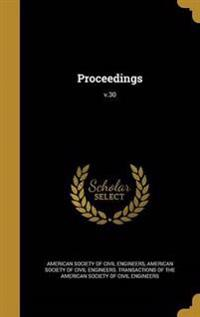 PROCEEDINGS V30