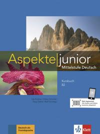 Aspekte junior B2. Kursbuch mit Audio-Dateien zum Download