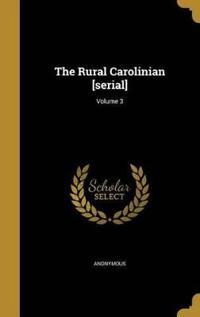 RURAL CAROLINIAN SERIAL V03