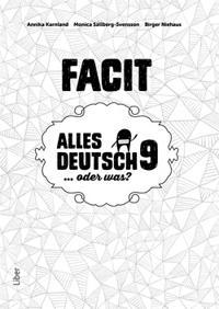 Alles Deutsch 9 Facit - Tyska för högstadiet