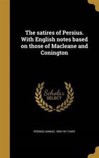 LAT-THE SATIRES OF PERSIUS W/E