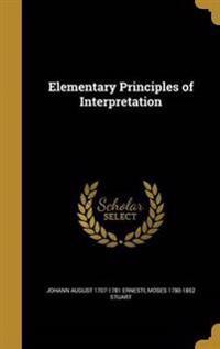 ELEM PRINCIPLES OF INTERPRETAT
