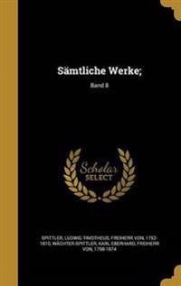 GER-SAMTLICHE WERKE BAND 8