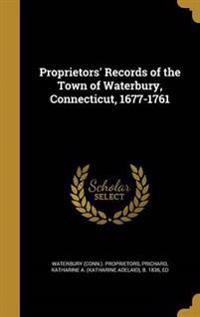 PROPRIETORS RECORDS OF THE TOW