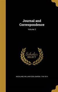 JOURNAL & CORRESPONDENCE V03