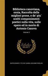 ITA-BIBLIOTECA CANOVIANA OSSIA