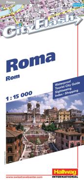 Rand McNally Rome Cityflash Vistor Map