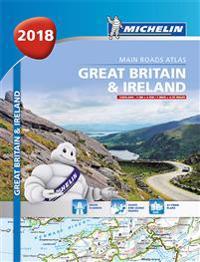 Great britain & ireland atlas 2018