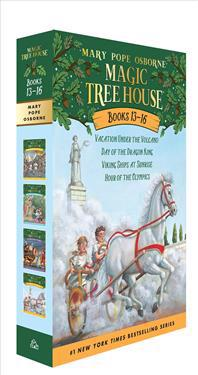 Magic Tree House Volumes 13-16 Boxed Set