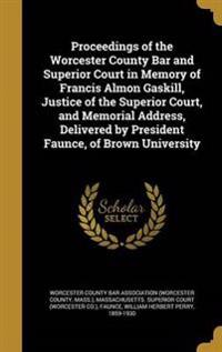 PROCEEDINGS OF THE WORCESTER C