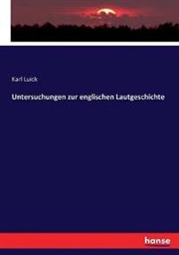 Untersuchungen zur englischen Lautgeschichte