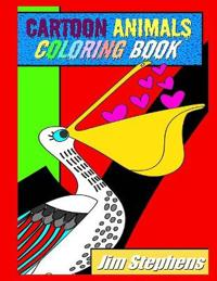Cartoon Animals Coloring Book