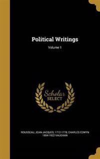 POLITICAL WRITINGS V01