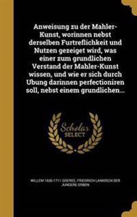 GER-ANWEISUNG ZU DER MAHLER-KU