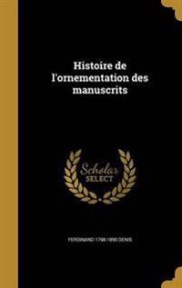 FRE-HISTOIRE DE LORNEMENTATION