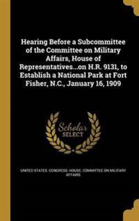 HEARING BEFORE A SUBCOMMITTEE