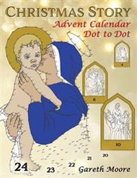 Christmas Story: Advent Calendar Dot to Dot