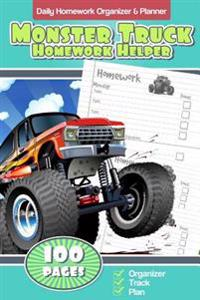 Daily Homework Organizer & Planner Monster Truck Homework Helper