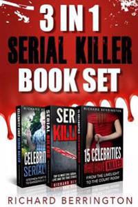 3 in 1 Serial Killer Book Set: 15 Celebrities Who Have Killed / Celebrity Chef Ser