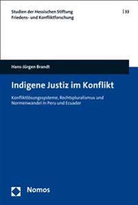 Indigene Justiz Im Konflikt: Konfliktlosungssysteme, Rechtspluralismus Und Normenwandel in Peru Und Ecuador
