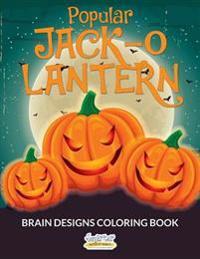 Popular Jack-O-Lantern Brain Designs Coloring Book
