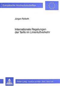 Internationale Regelungen Der Tarife Im Linienluftverkehr