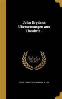 GER-JOHN DRYDENS UBERSETZUNGEN