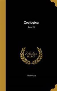 GER-ZOOLOGICA BAND 23