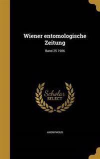 GER-WIENER ENTOMOLOGISCHE ZEIT