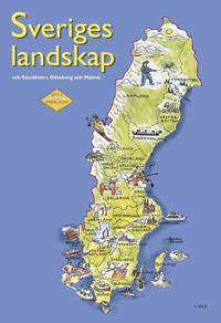 Lilla uppslaget Sveriges landskap och Stockholm, Göteborg och Malmö