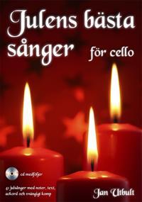Julens bästa sånger för cello (med cd och på Spotify)